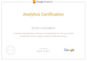Ki Google Analytics Certification